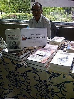 Pilip Larkin - Book Signing - Leeds Book Fair 2013